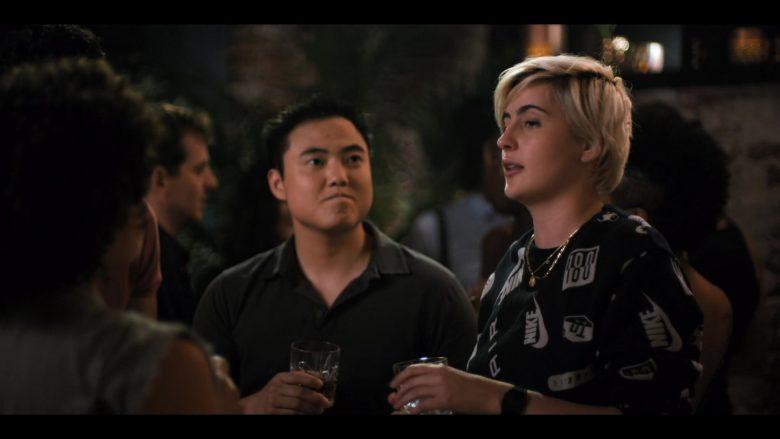 Nike Air Sweatshirt Worn by Jacqueline Toboni as Sarah Finley in The L Word Generation Q Season 1 Episode 4 LA Times (1)