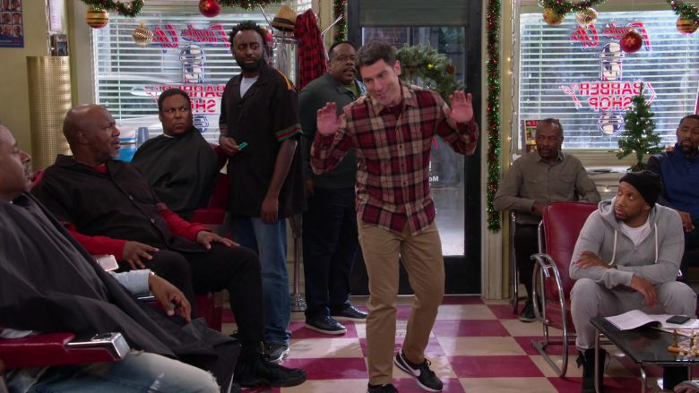 Nike Black Sneakers Worn by Max Greenfield as Dave in The Neighborhood Season 2 Episode 11 Welcome to the Scooter (2)