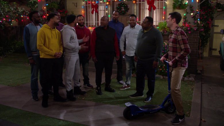 Nike Black Sneakers Worn by Max Greenfield as Dave in The Neighborhood Season 2 Episode 11 Welcome to the Scooter (4)