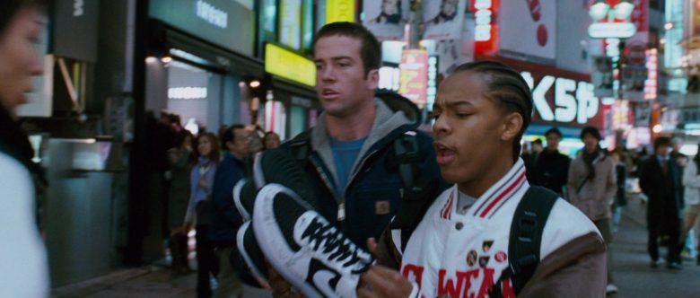 Nike Black & White Sneakers in The Fast and the Furious Tokyo Drift (2)