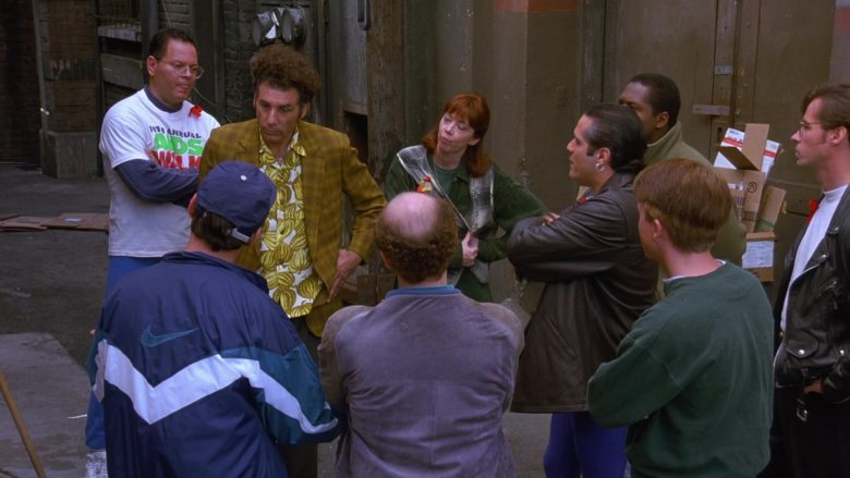Nike Blue Jacket For Men in Seinfeld Season 7 Episode 9 The Sponge