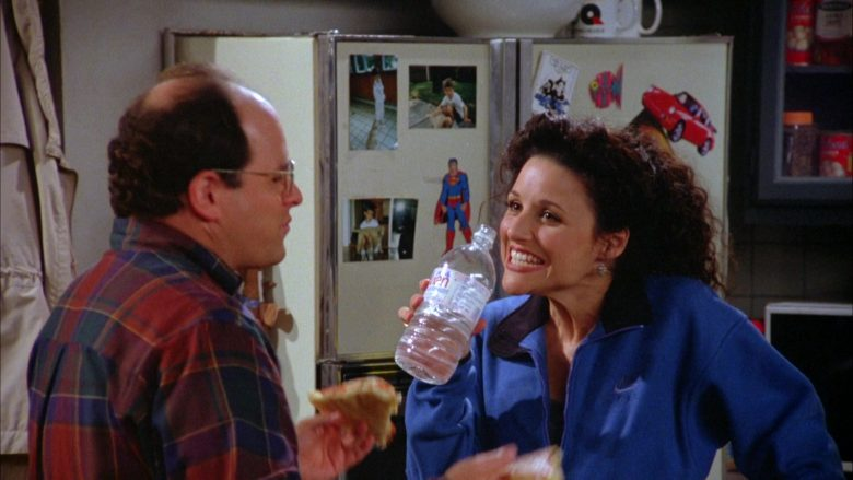 Nike Blue Jacket Worn by Julia Louis-Dreyfus as Elaine Benes in Seinfeld Season 5 Episode 7 (1)