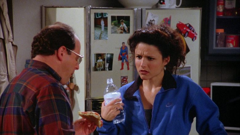Nike Blue Jacket Worn by Julia Louis-Dreyfus as Elaine Benes in Seinfeld Season 5 Episode 7 (2)
