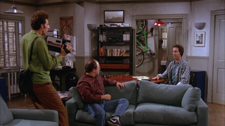 Nike Blue Shoes Worn by Jason Alexander as George Costanza in Seinfeld Season 3 Episode 8