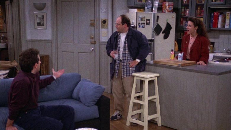 Nike Blue Sneakers Worn by Jason Alexander as George Costanza in Seinfeld Season 2 Episode 4 (2)