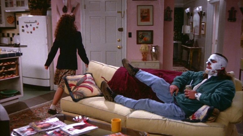 "Nike Boots For Men in Seinfeld Season 5 Episode 12 ""The Stall"" (1994) - TV Show Product Placement"