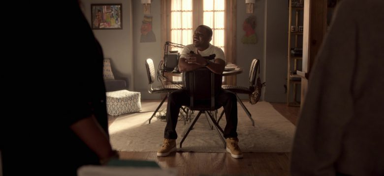 Nike High Top Shoes Worn by Mekhi Phifer as Markus Knox in Truth Be Told Season 1 Episode 5 Graveyard Love