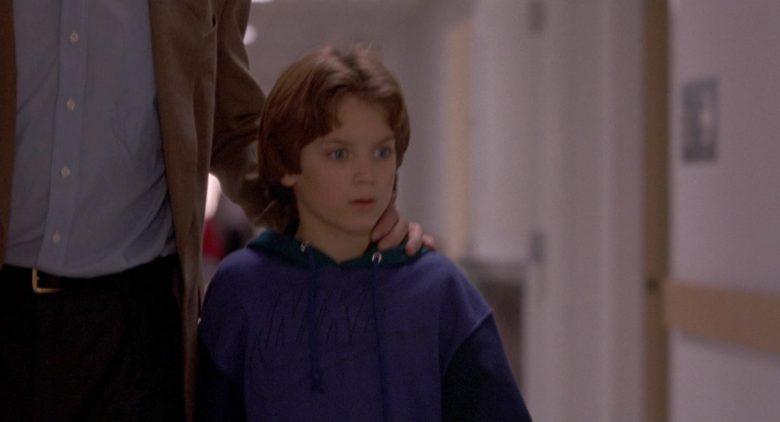 Nike Hoodie Worn by Elijah Wood as Mark Evans in The Good Son (2)