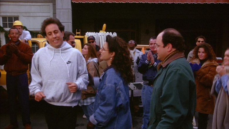Nike Hoodie Worn by Jerry Seinfeld in Seinfeld Season 6 Episode 10 The Race (1)