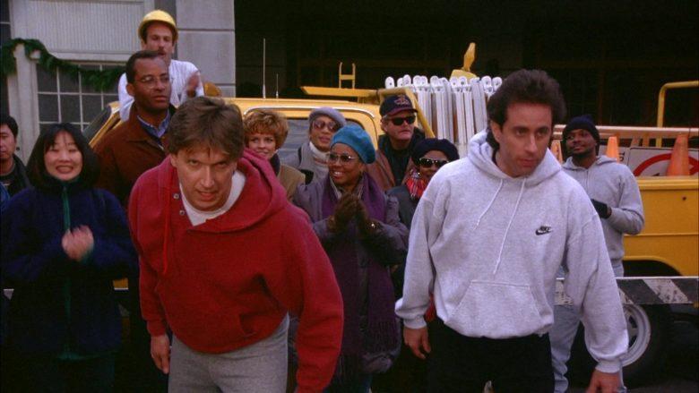 Nike Hoodie Worn by Jerry Seinfeld in Seinfeld Season 6 Episode 10 The Race (2)