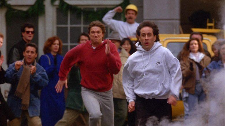Nike Hoodie Worn by Jerry Seinfeld in Seinfeld Season 6 Episode 10 The Race (4)