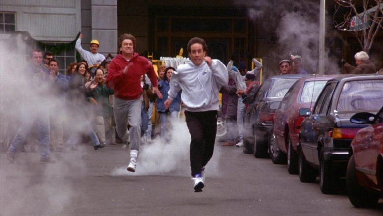 Nike Hoodie Worn by Jerry Seinfeld in Seinfeld Season 6 Episode 10 The Race (5)