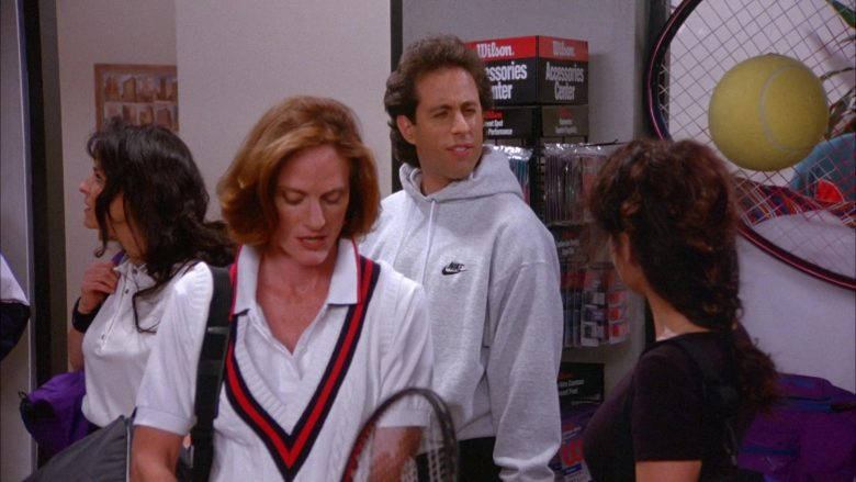 Nike Hoodie Worn by Jerry Seinfeld in Seinfeld Season 6 Episode 11 The Switch (3)