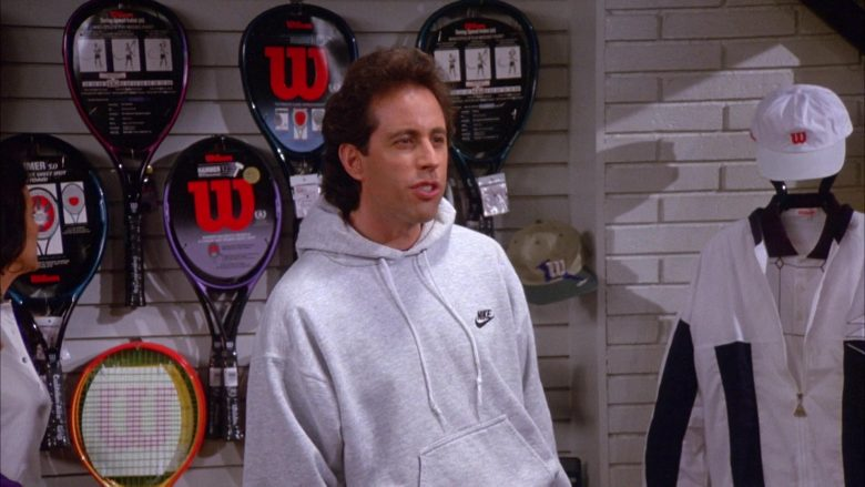 Nike Hoodie Worn by Jerry Seinfeld in Seinfeld Season 6 Episode 11 The Switch (4)