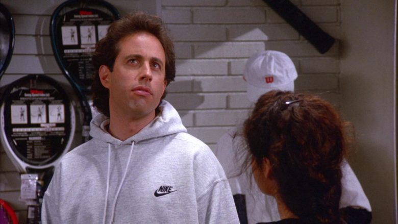 Nike Hoodie Worn by Jerry Seinfeld in Seinfeld Season 6 Episode 11 The Switch (5)