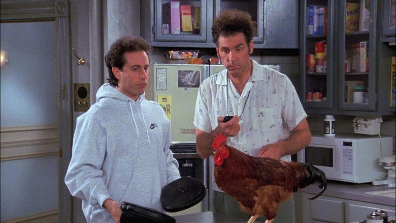 Nike Hoodie Worn by Jerry Seinfeld in Seinfeld Season 8 Episode 11 The Little Jerry (1)
