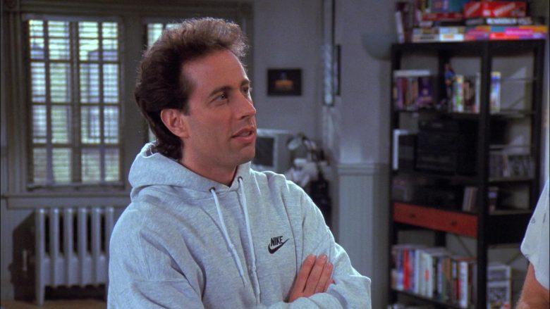 Nike Hoodie Worn by Jerry Seinfeld in Seinfeld Season 8 Episode 11 The Little Jerry (3)