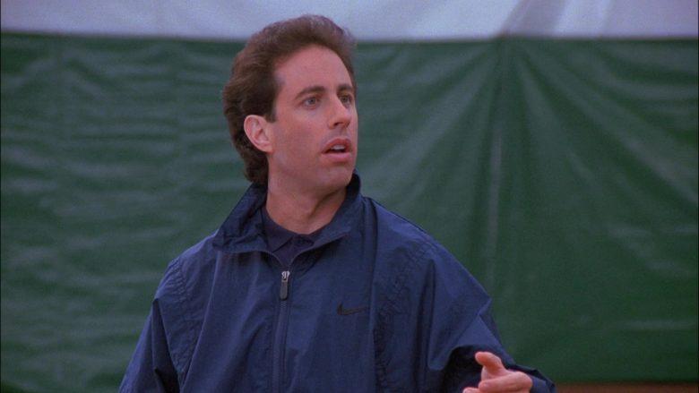 Nike Jacket Worn by Jerry Seinfeld in Seinfeld Season 8 Episode 13 The Comeback
