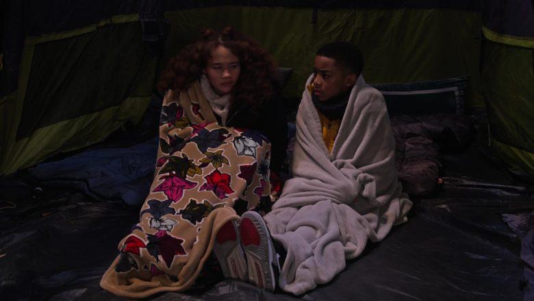 Nike Jordan Boys Sneakers Worn by Isaiah Russell-Bailey as Shaka McKellan in A Family Reunion Christmas (2)