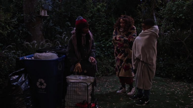 Nike Jordan Boys Sneakers Worn by Isaiah Russell-Bailey as Shaka McKellan in A Family Reunion Christmas (3)