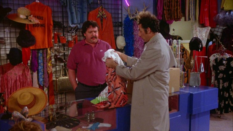 Nike Polo Shirt Worn by Mike Hagerty in Seinfeld Season 5 Episode 18-19 (5)