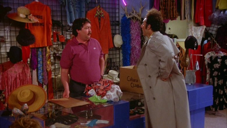 Nike Polo Shirt Worn by Mike Hagerty in Seinfeld Season 5 Episode 18-19 (6)