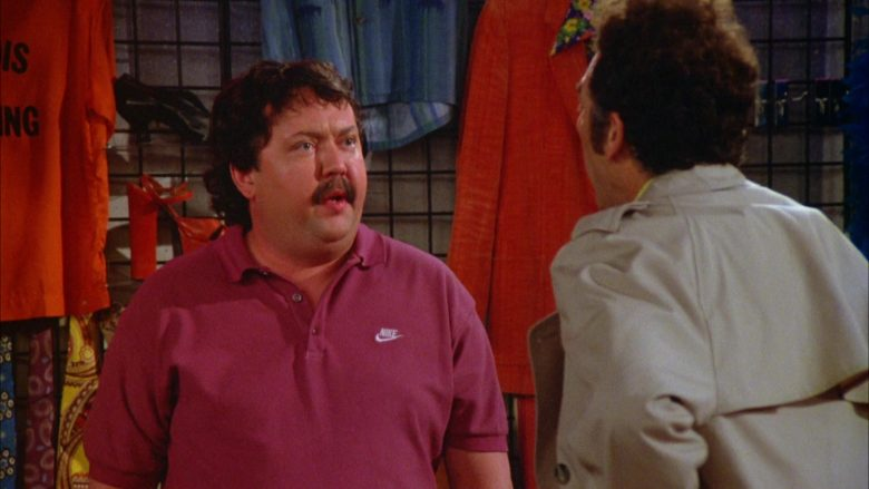 Nike Polo Shirt Worn by Mike Hagerty in Seinfeld Season 5 Episode 18-19 (7)