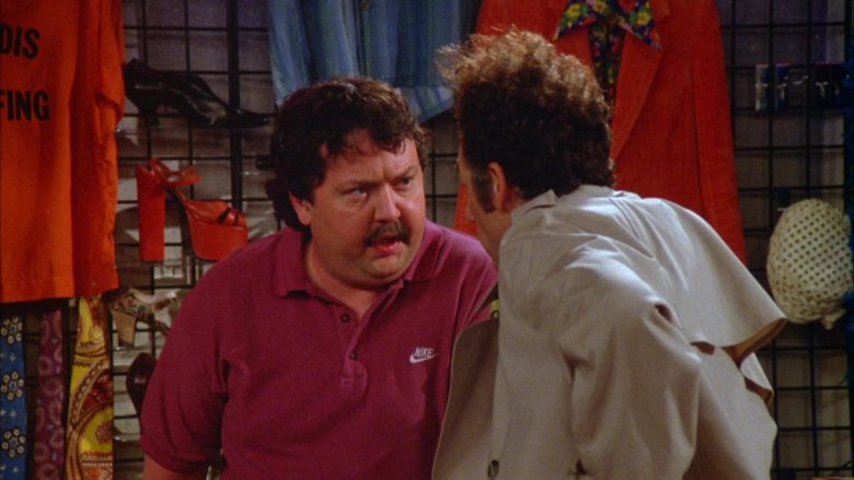 Nike Polo Shirt Worn by Mike Hagerty in Seinfeld Season 5 Episode 18-19 (8)