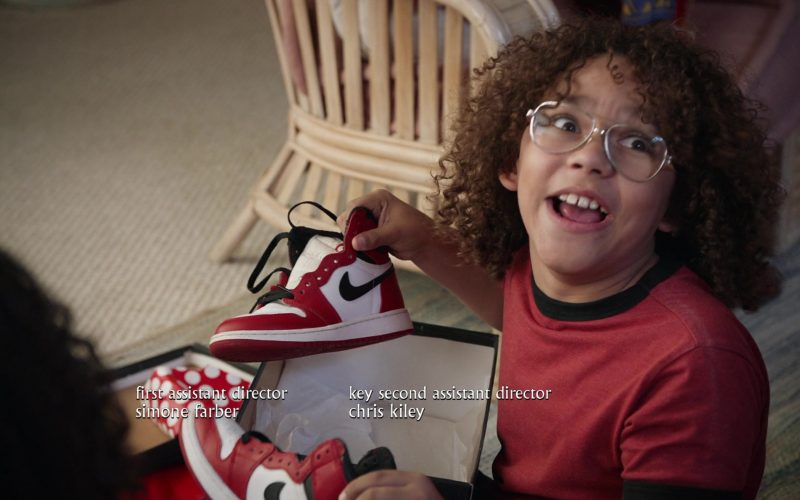 Nike Shoes Held by Ethan William Childress as Johan Johnson in Mixed-ish Season 1 Episode 10 (2)