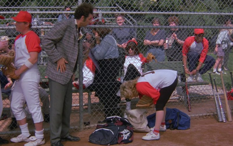 Nike Shoes and Reebok Bag in Seinfeld Season 6 Episode 24 The Understudy