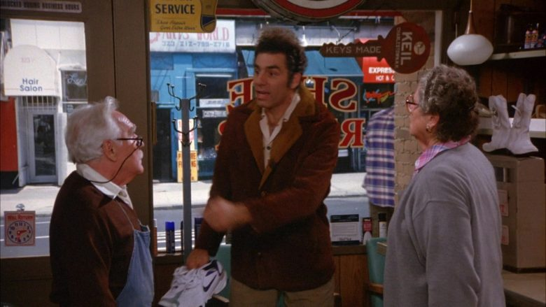 Nike Shoes in Seinfeld Season 6 Episode 8 The Mom & Pop Store (3)