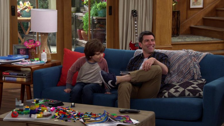 Nike Sneakers For Men Worn by Max Greenfield as Dave Johnson in The Neighborhood Season 2 Episode 10 (2)
