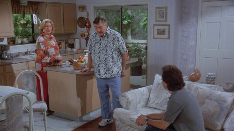 Nike Sneakers Worn by Barney Martin in Seinfeld Season 7 Episode 14-15 The Cadillac