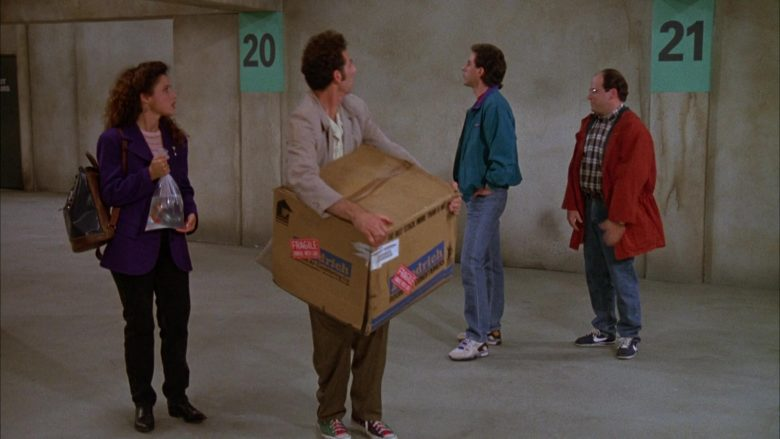 Nike Sneakers Worn by Jason Alexander as George Costanza in Seinfeld Season 3 Episode 6 (2)