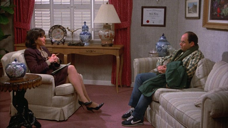 Nike Sneakers Worn by Jason Alexander as George Costanza in Seinfeld Season 4 Episode 16 (2)
