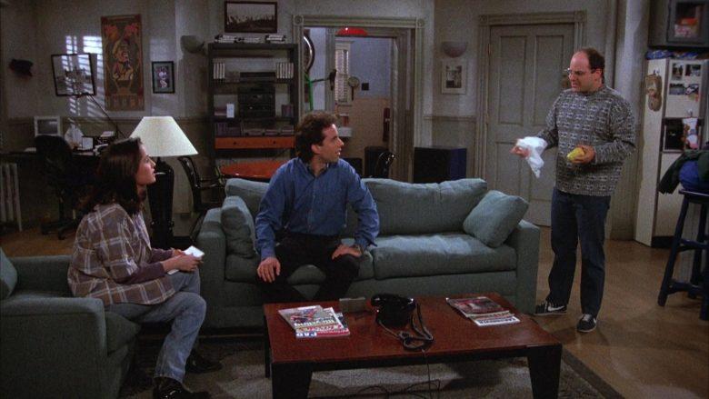 Nike Sneakers Worn by Jason Alexander as George Costanza in Seinfeld Season 4 Episode 17