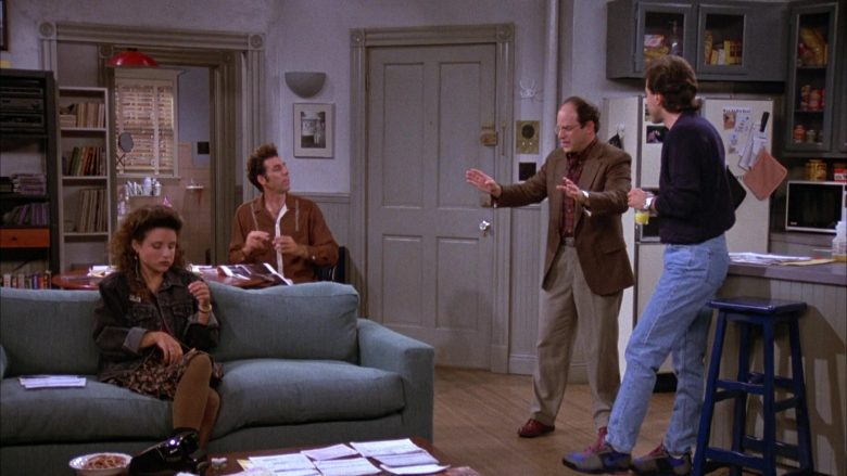 Nike Sneakers Worn by Jerry Seinfeld in Seinfeld Season 3 Episode 2 The Truth (2)