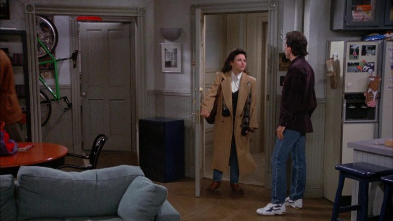 Nike Sneakers Worn by Jerry Seinfeld in Seinfeld Season 4 Episode 9 The Opera