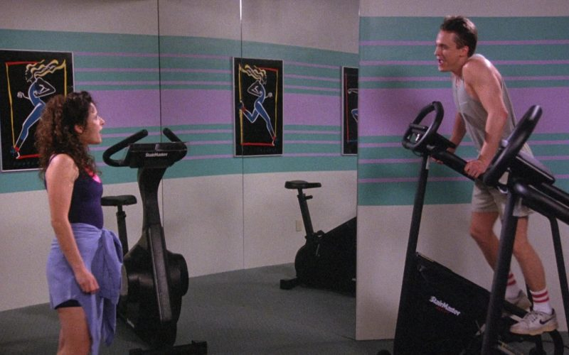 Nike Sneakers and StairMaster in Seinfeld Season 6 Episode 19 The Jimmy (1)