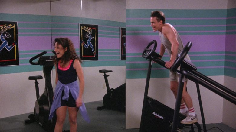 Nike Sneakers and StairMaster in Seinfeld Season 6 Episode 19 The Jimmy (2)