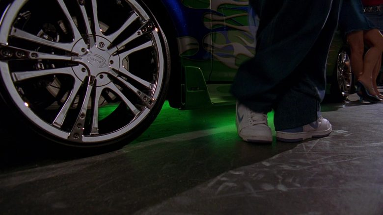 Nike Sneakers in 2 Fast 2 Furious