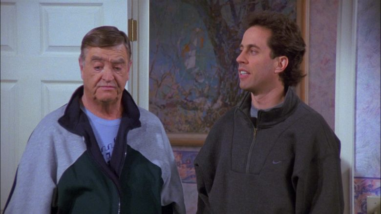 Nike Sweatshirt For Men Worn by Jerry Seinfeld in Seinfeld Season 8 Episode 17 The English Patient (2)