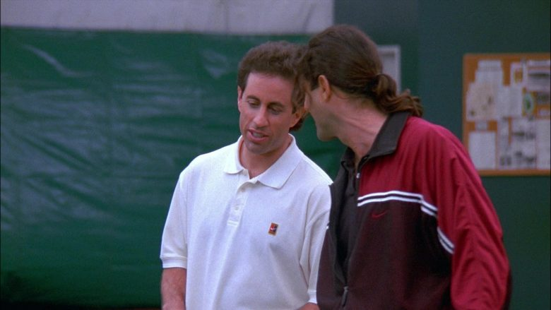 Nike White Shirt For Men Worn by Jerry in Seinfeld Season 8 Episode 13 The Comeback (2)