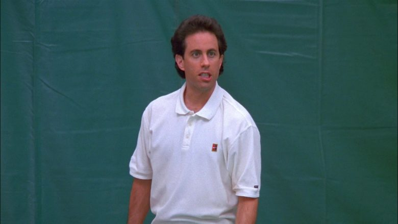 Nike White Shirt For Men Worn by Jerry in Seinfeld Season 8 Episode 13 The Comeback (3)