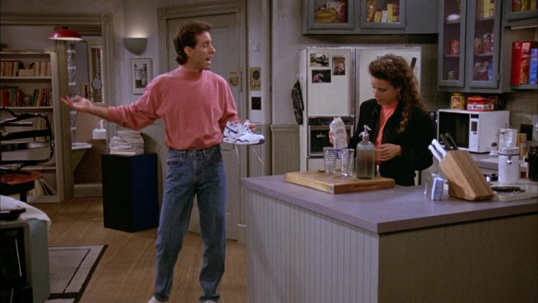 Nike White Shoes Worn by Jerry Seinfeld in Seinfeld Season 3 Episode 4 The Dog (2)
