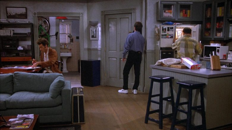 Nike White Shoes Worn by Jerry in Seinfeld Season 4 Episode 5 The Wallet (2)