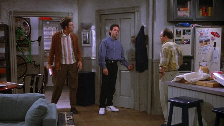 Nike White Shoes Worn by Jerry in Seinfeld Season 4 Episode 5 The Wallet (5)