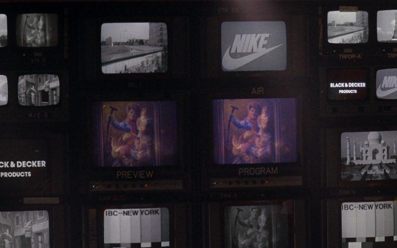 Nike and Black & Decker in Scrooged