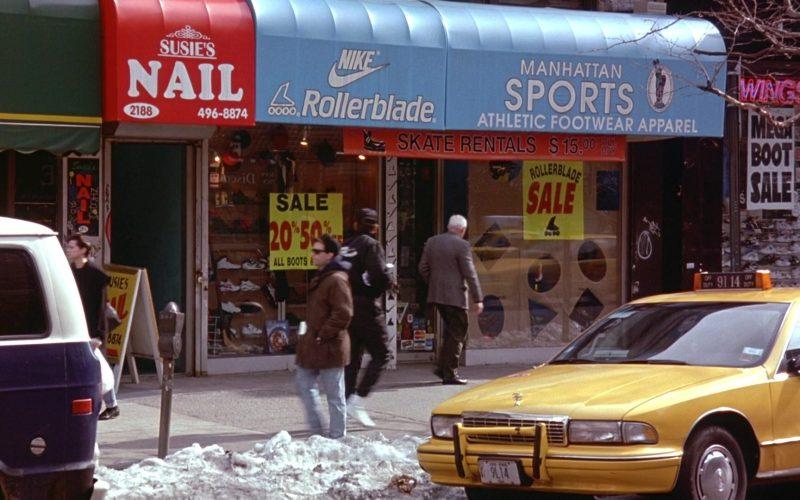 Nike and Rollerblade in Seinfeld Season 6 Episode 19 The Jimmy