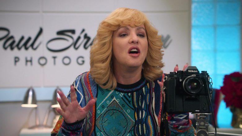 Nikon Camera Used by Wendi McLendon-Covey as Beverly Goldberg (née Solomon) in The Goldbergs Season 7 Episode 10